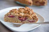 Home made Almond Plum Cake