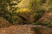 River Ouseburn Under Stone Bridge