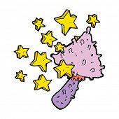 image of magical-mushroom  - magical mushroom cartoon - JPG