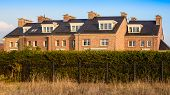 picture of victorian houses  - Terraced house in the English Victorian style  - JPG