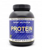 stock photo of isolator  - Sport nutrition - JPG