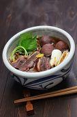pic of buckwheat  - kamo nanban soba - JPG