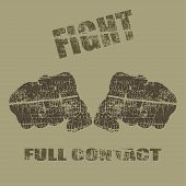 picture of fist  - Vector fists - JPG