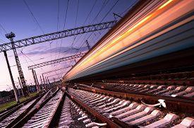 image of passenger train  - High - JPG