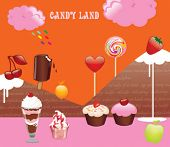 Vektor Candy land