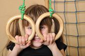 Child With Gymnastic Rings