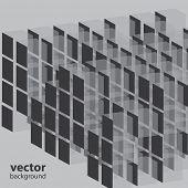 Cube Business-Vorlage-Hintergrund