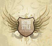 Vintage stylize label