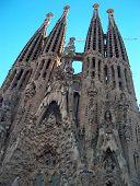 La Sagrada Família Barcelona, Katalonien, Spanien