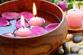 Rose petal aromatherapy