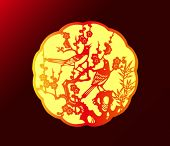 Zodiac Sign of Chinese New Year.