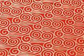 Brocade fabric oriental