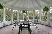 foto of screen-porch  - Screened in porch - JPG