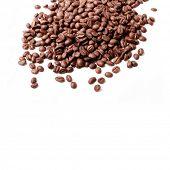 fresh coffee beans background