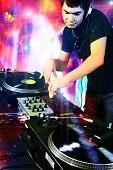 DJ Disco House progressive Electro Musik beim Konzert