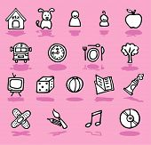 Family,home,kids Icons Set -