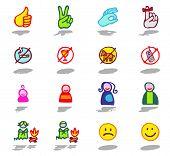 color icons - symbols 1