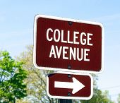 College Avenue Sign