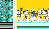 stock photo of birthday party  - birthday card 2 - JPG