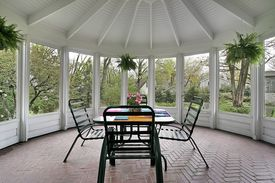 image of screen-porch  - Screened in porch - JPG
