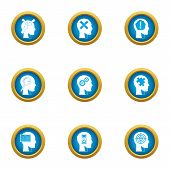 Smart Choice Icons Set. Flat Set Of 9 Smart Choice Vector Icons For Web Isolated On White Background poster