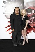 LOS ANGELES - AUG 3: Ron Jeremy and Phoebe at the Screening of 'The Expendables' held at Grauman's Chinese Theater on August 3, 2010 in Los Angeles, California