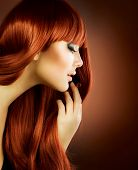 foto of red hair  - Beauty Portrait - JPG
