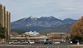 A View Of The Nau Campus And The San Francisco Peaks