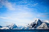 stock photo of south-pole  - Beautiful snow - JPG