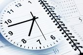 picture of punctuality  - Clock face - JPG