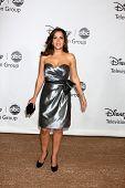 LOS ANGELES - el 1 de agosto: Maria Canals-Barrera arrive(s) en el 2010 ABC verano prensa Tour Fiesta en B