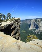 Taft Point in Yosemite