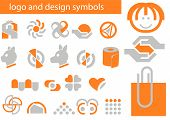 Vector Set Of Logo And Design Symbols