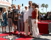 LOS ANGELES - SEP 4:  Portia DeRossi, Ellen DeGeneres, Family at the Hollywood Walk of Fame Ceremony
