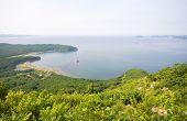 Nakhodka Bay. Russia. Primorsky Kray. Japan sea. Morning.