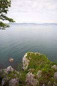 Nakhodka city stand on the shores of Nakhodka bay. Russia. Primorsky Kray. Japan sea.