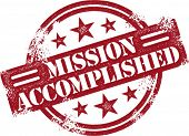 Mission Accomplished Reward Stamp
