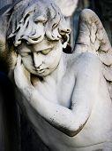 Sleeping Angel at La Recoleta Cemetery in Buenos Aires