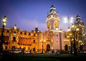 Plaza de armas, em Lima, Peru