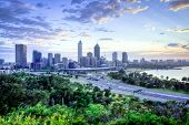 Perth Skyline de Kings Park