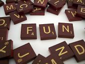 Fun Letter Tiles