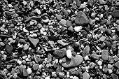 A Close Up Pebble Texture