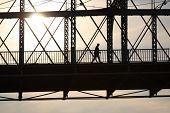 Travessia da ponte Roebling