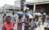 Morning market in Port-Au-Prince.