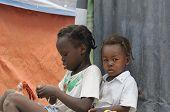 Haitian small kids.