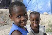 haitianische Kinder.