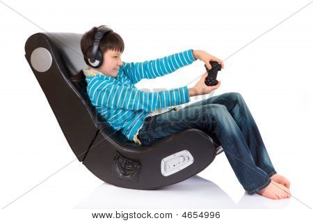 poster of Boy In Ergonomic Chair
