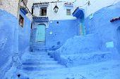 Azul Medina de Chefchaouen, Marruecos