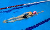 Young Female Swimmer