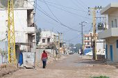 Refugee Camp Streets
